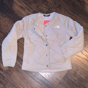 The north face quilted Sherpa lined jacket size S